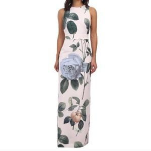 TED BAKER | Floral Maxi Dress Wedding Formal Sz 0